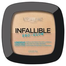 LOREAL Infallible Pro Glow Lasting Powder Highlighter NATURAL BEIGE 24 longwear
