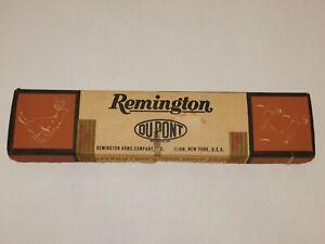 '67 Remington Arms Springfield Rifle OEM DUPONT Empty Box Only - Empty Survivor!
