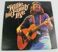 Willie & Family Live Willie Nelson Vinyl 2 LP Set 1978 Columbia Records CBS