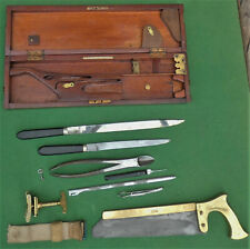 Antique Surgeon's AMPUTATION SET by Archibald Young & Son of Edinburgh CASED