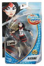 DC Super Hero Girls 6 Inch Katana Action Figure  *BRAND NEW*