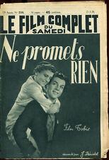 Le Film Complet 2110 - Ne promets rien, film allemand - 21 mai 1938