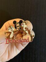 Disney Collector Pin *Chip n Dale* Stacking Acorns Disneyland 2004