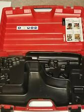 Hilti Dx 460, Gas Actuated Tool Kit Plastic Case,Pre Owned.