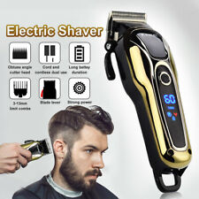 New KEMEI Pro Electric Men Hair Clipper Shaver Trimer Cutter Cordless Razor US