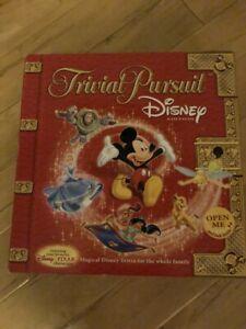 Disney Trivial Pursuit Game In Box 2005