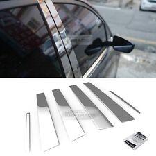 Stainless Steel Chrome Window Pillar Molding 6P For RENAULT 2005 - 2009 Safrane