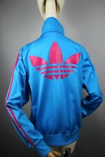 Adidas Originals Womens Blue & Red Stripes Tracksuit Top Jacket  Size L/ 44