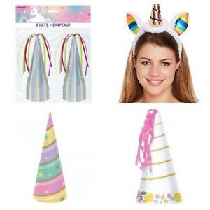 Unicorn Party Hats Unicorn Horn Hats
