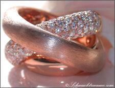 LUXUS PUR! Opulenter, massiver Brillanten Ring 2,68 ct. TW-VS RG750 10.740€
