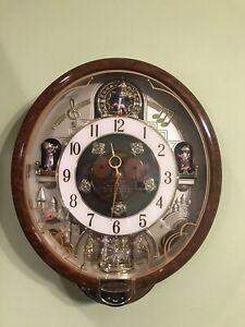 Seiko Melodies In Motion Clock Swarovski Crystals 2006 collectors edition