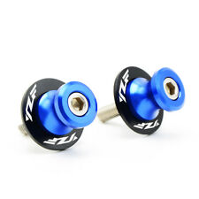 CNC 6mm Swingarm Sliders Spools Motor For Yamaha YZF-R3 R1 R1M R6 R125 R25 R15