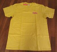 Supreme No More Sh*t Tee T-Shirt Size Large Lemon Yellow FW20 Supreme New York