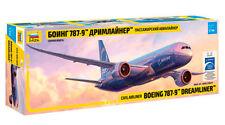 """Zvezda 7021 CIVIL AIRLINER BOEING 787-9 """"DREAMLINER""""  1/144 ZVEZDA"""