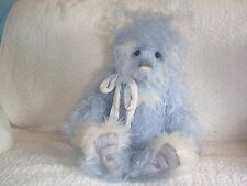 "Charlie BEAR Heston 22"" BLU Mohair Ltd Edition Isabelle Collection SJ550"