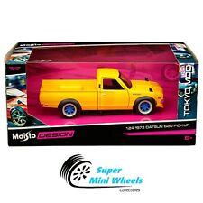Maisto 1:24 Tokyo Mod - 1973 Datsun 620 Pick-up - Yellow