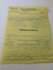 WWII Voucher Of Reimbursement Letter October 1943