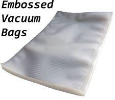 Pack de 50 en relief Food scelleuse sous vide sacs d'emballage sac 40 x 50 cm