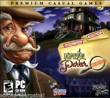 INSPECTOR PARKER: UNSOLVED. 2 CASES. BRAND NEW FOR PC. SHIPS FAST and SHIPS FREE