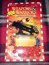 WEAPONS AND WARRIORS 1995 Cannon Accessory Pack Pressman NEW Vintage Board Game