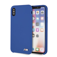 BMW Silicon Hard Case for iPhone XS MAX Navy Drop Protection