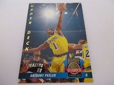 Carte NBA UPPER DECK 1992-93 ROOKIE STANDOUTS FR #62 Anthony Peeler LA Lakers
