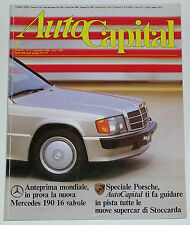 AUTOCAPITAL 9/1988 MERCEDES 190 E 2.5-16 – FERRARI 340 MEXICO / P2/3 - FORD GT40