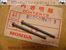 HONDA CB 750 Four k0-k6 SET VITI PER FANALE RETROVISORE VETRO screw set for lens