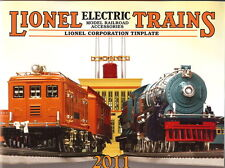 2011 LIONEL (MTH) TRAINS TINPLATE CATALOG MINT