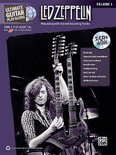 Led Zeppelin Ultimate Guitar Play Along Vol.1 Tab Book 2 Cd Set NEW!