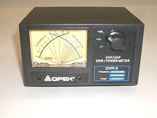 OPEK SWR-8L 144/430 VHF UHF CROSS NEEDLE SWR POWER WATT METER 200W