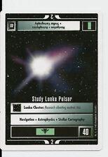 Star Trek CCG Premiere WB Unlimited Study Lonka Pulsar