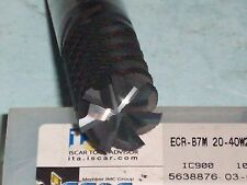 NEW ISCAR SOLID CARBIDE ENDMILL  20MM , FREE SHIPPING!!!
