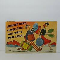 Vintage Comic Humor Postcard 1950s
