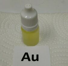 Stannous chloride testing solution, made with 24k gold.  Check your Stannous!
