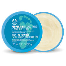 Body Shop Peppermint Smoothing Pumice Foot Scrub (100ml, Brand New)