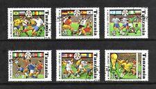 Tanzania 1994 World Cup Football Championship, USA short set of 6 values used