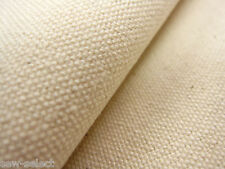 """Natural cotton duck canvas fabric  SOLD PER METRE  36""""w 14oz STRONG waterproof"""