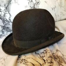 Stetson Black Derby Bowler Hat