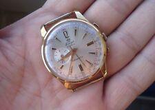 Lings - vintage men's winding chrono-stop watch - beautiful - 38mm