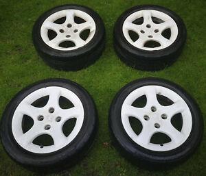 "Peugeot 306 Gti Cyclone Alloy Wheels 15"" Speedline"