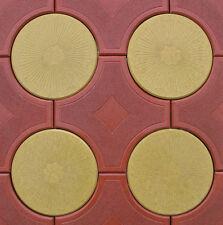 3 Schalungsformen, Gießformen für Beton, Gips Trittsteine Gehweg 2 Formen + Rand