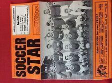 m2t ephemera 1967 football picture southend utd f c bentley baber smillie