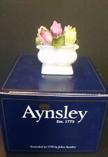 Aynsley Bone China Flower of the Month Floral Ornament March Tulip New & Boxed