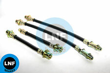 PONTIAC TEMPEST CUSTOM LEMANS SAFARI BRAKE HOSE FRONT REAR SET X4 63 1963