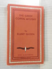 THE GREEK COFFIN MYSTERY Ellery Queen The Albatross Modern continental library