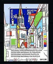 """SWITZERLAND - SVIZZERA - BF - 1999 - Espos. Filat. nazionale """"NABA 2000"""""""