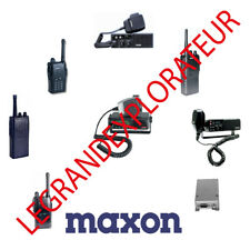 Ultimate MAXON Radio Operation Repair Service Manual Schematics Collection  DVD