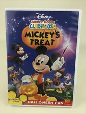 Mickey Mouse Clubhouse Mickey's Treat Dvd Halloween Tv Show Playhouse Disney