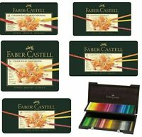 Faber Castell Polychromos Artist Quality Colour Pencils Sets 12, 24, 36, 60, 120